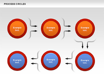 Process Circles Diagram, Slide 3, 00852, Process Diagrams — PoweredTemplate.com