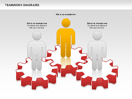 Business Models: Teamwork with Platforms Diagram #00854