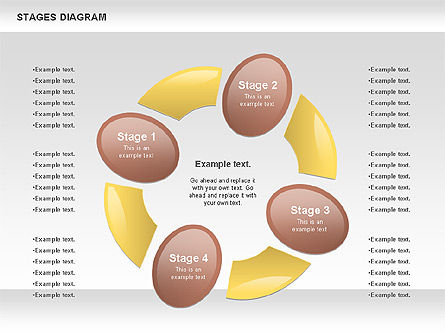 Stage Diagrams: Vrij podium diagram #00860