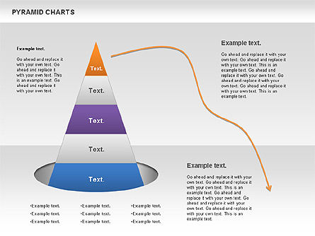 Business Models: Pyramid and Radar Chart #00861