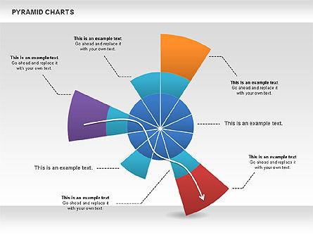 Pyramid and Radar Chart, Slide 2, 00861, Business Models — PoweredTemplate.com