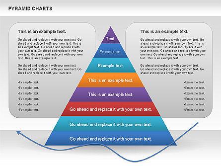 Pyramid and Radar Chart, Slide 3, 00861, Business Models — PoweredTemplate.com