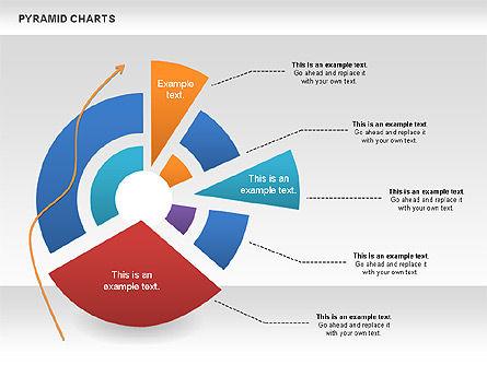 Pyramid and Radar Chart, Slide 4, 00861, Business Models — PoweredTemplate.com