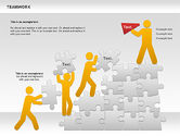 Puzzle Diagrams: Teamwork with Puzzles Diagram #00862