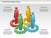 Business Models: Supporting Business People #00864