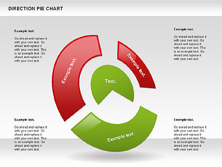Direction Pie Chart Slide 2