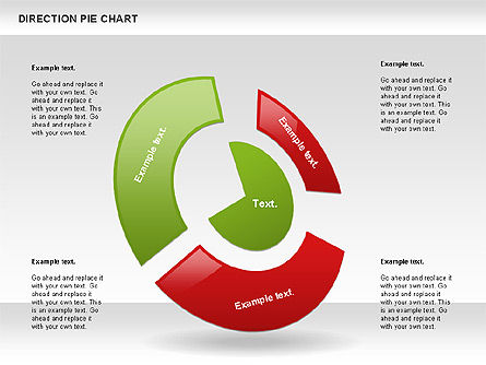 Direction Pie Chart Slide 4
