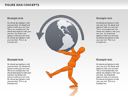 Business Models: Figure Man Concept #00867