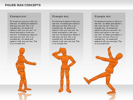 Figure Man Concept, Slide 11, 00867, Business Models — PoweredTemplate.com