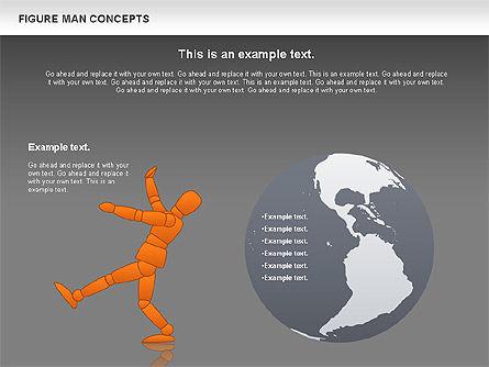 Figure Man Concept, Slide 14, 00867, Business Models — PoweredTemplate.com