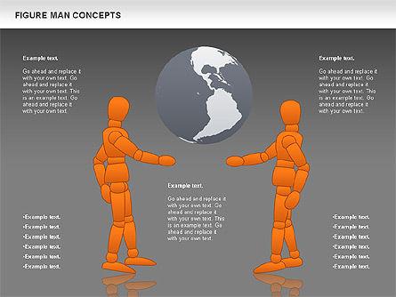 Figure Man Concept, Slide 15, 00867, Business Models — PoweredTemplate.com