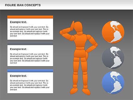 Figure Man Concept, Slide 16, 00867, Business Models — PoweredTemplate.com