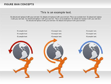 Figure Man Concept, Slide 2, 00867, Business Models — PoweredTemplate.com