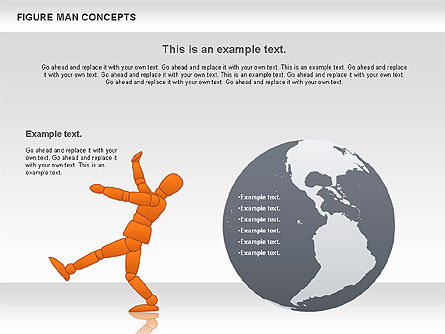 Figure Man Concept, Slide 3, 00867, Business Models — PoweredTemplate.com