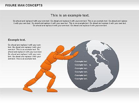 Figure Man Concept, Slide 5, 00867, Business Models — PoweredTemplate.com
