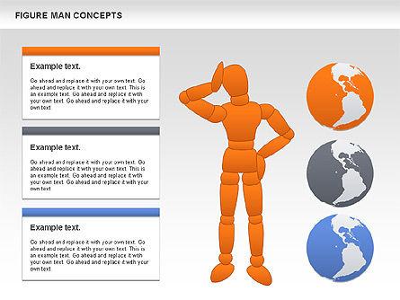 Figure Man Concept, Slide 7, 00867, Business Models — PoweredTemplate.com