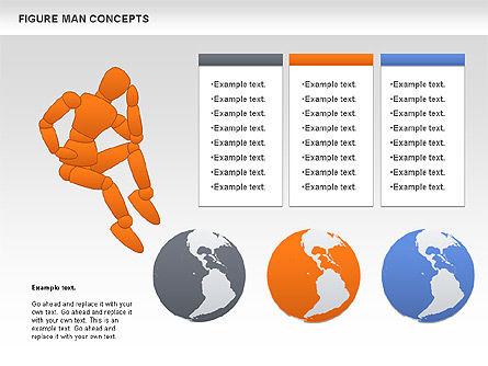 Figure Man Concept, Slide 8, 00867, Business Models — PoweredTemplate.com
