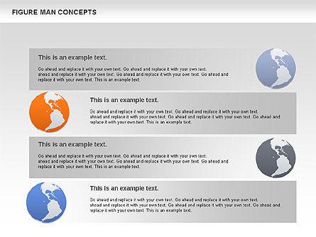 Figure Man Concept, Slide 9, 00867, Business Models — PoweredTemplate.com