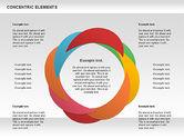 Concentric Timeline Shapes#10