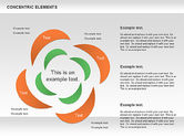 Concentric Timeline Shapes#11