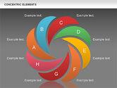 Concentric Timeline Shapes#12