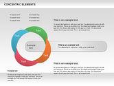 Concentric Timeline Shapes#8