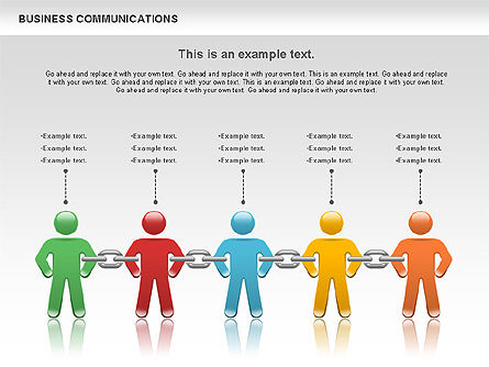 Business Models: Communication Chain #00871