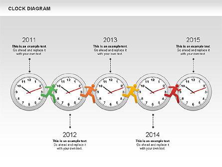 Clock Face Diagram Slide 10