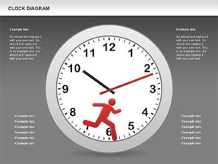 Clock Face Diagram Slide 12