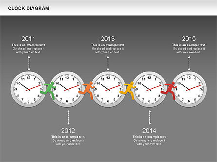 Clock Face Diagram Slide 16