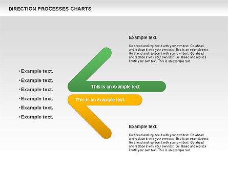 Process Diagrams: Direction Processes Chart #00875
