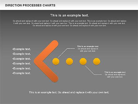 Direction Processes Chart, Slide 13, 00875, Process Diagrams — PoweredTemplate.com