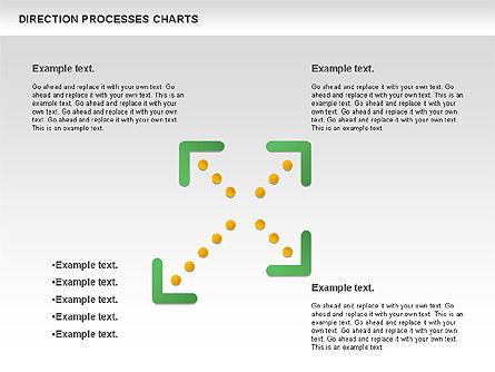 Direction Processes Chart, Slide 8, 00875, Process Diagrams — PoweredTemplate.com