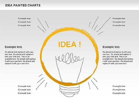 Idea Painted Chart, 00877, Business Models — PoweredTemplate.com