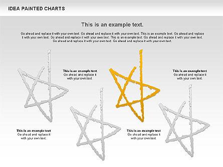 Idea Painted Chart, Slide 11, 00877, Business Models — PoweredTemplate.com