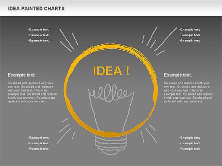 Idea Painted Chart, Slide 12, 00877, Business Models — PoweredTemplate.com