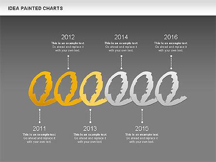 Idea Painted Chart, Slide 13, 00877, Business Models — PoweredTemplate.com