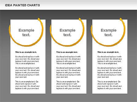 Idea Painted Chart, Slide 15, 00877, Business Models — PoweredTemplate.com
