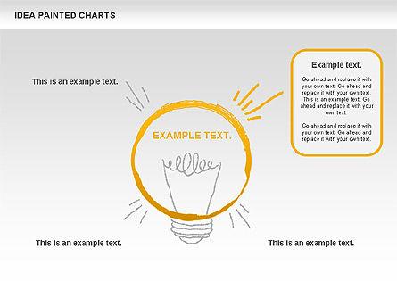 Idea Painted Chart, Slide 5, 00877, Business Models — PoweredTemplate.com