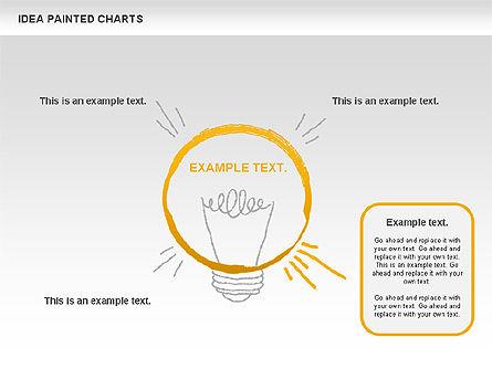Idea Painted Chart, Slide 6, 00877, Business Models — PoweredTemplate.com
