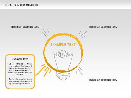 Idea Painted Chart, Slide 7, 00877, Business Models — PoweredTemplate.com