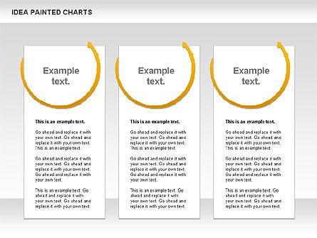 Idea Painted Chart, Slide 8, 00877, Business Models — PoweredTemplate.com