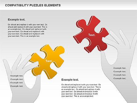 Puzzle Diagrams: Compatibility Puzzle Chart #00879