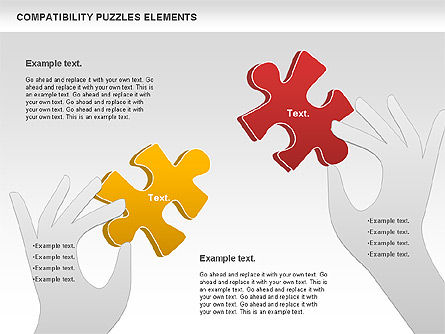 Puzzle Diagrams: Carta de quebra-cabeça de compatibilidade #00879