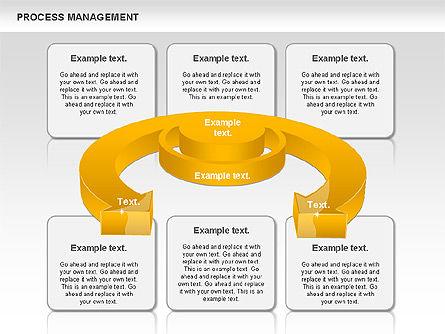 Process Management Diagram, Slide 3, 00880, Process Diagrams — PoweredTemplate.com