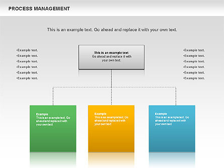 Process Management Diagram, Slide 5, 00880, Process Diagrams — PoweredTemplate.com