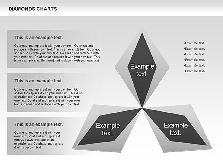 Business Models: Diamond Charts #00887