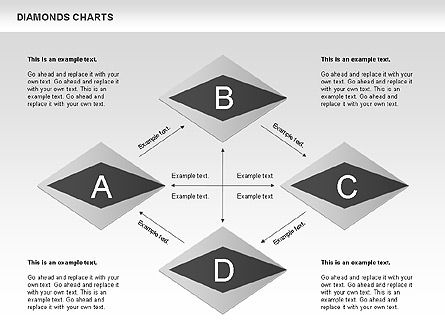 Diamond Charts, Slide 2, 00887, Business Models — PoweredTemplate.com
