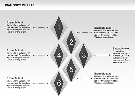 Diamond Charts, Slide 4, 00887, Business Models — PoweredTemplate.com