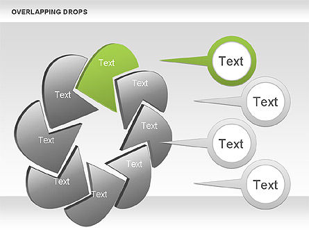 Business Models: Overlapping Shapes #00888
